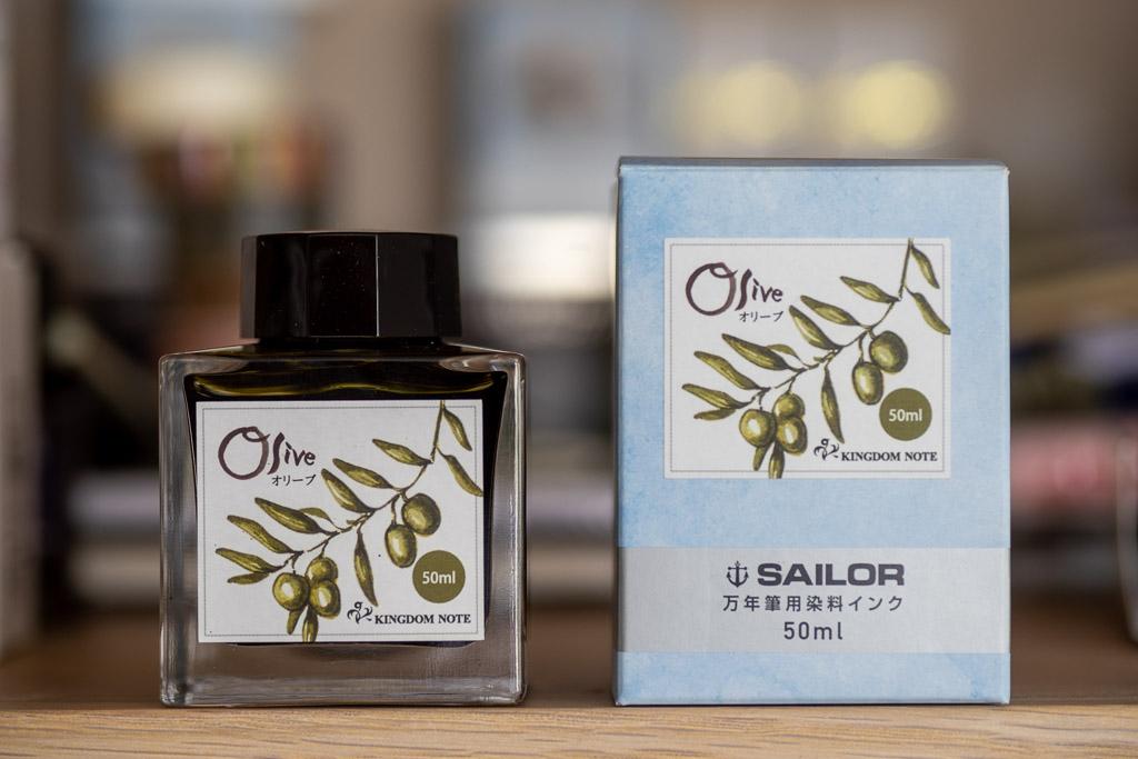 Sailor Kingdom Note - Olive